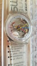 NOS Vintage Swatch Watch 1985 Jelly Fish GK100 New With Case!
