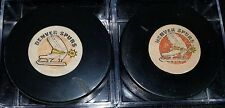 Denver Spurs CCM ART ROSS converse hockey GAME puck MADE IN THE USA LOT OF 2