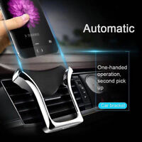 Gravity Car Phone Holder Air Vent Mount Stand For iPhone 11 Pro Huawei Samsung