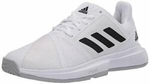 adidas Women's Courtjam Bounce Tennis Shoe, Black, Size 7.0 Stn2