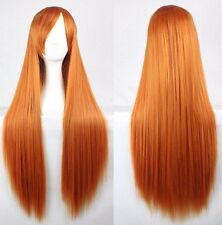 80cm Long Straight Fashion Cosplay Costume Party Hair Anime Wigs Full Hair Wigs