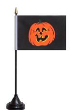 Halloween Pumpkin Polyester Table Desk Flag