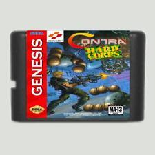 Contra Hard Corps Ntsc-u 16 Bit MD Game Card for SEGA Mega Drive for Genesis