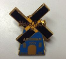 Hard Rock Cafe AMSTERDAM - GRAND OPENING STAFF PIN - HRC WINDMILL