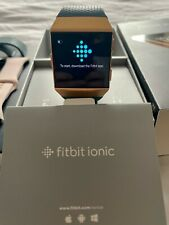 Fitbit Ionic Smartwatch Burnt Orange - multiple straps!
