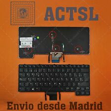 Keyboard Spanish for DELL Latitude E6430u Ultrabook (Backlit)
