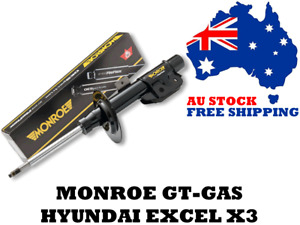 Monroe GT-Gas w/ Reflex E4334 - Hyundai Excel X3 1994-2000 Front Shocks