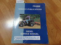 Polaris Diesel Service Manual OEM