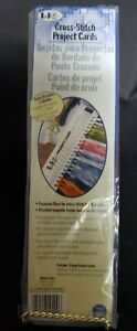 New LoRan Cross Stitch Large Project Cards With Magnet 3 per pkg 60 Colors Total