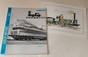 LOCO REVUE Avril 1974 + Encart Couleur LOCOMOTIVE type 021-229 + Plan 150.E Est