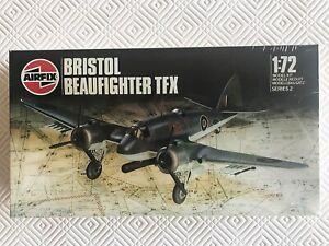 Vintage Airfix Bristol Beaufighter TFX, Series 2, #02003, 1:72 Scale - sealed