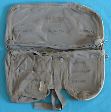 Soviet Russian Air Force Pilot Survival Kit NAZ-7M Bag from Ejection Seat K-36