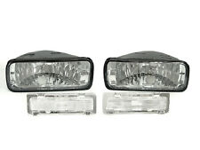 DEPO 85 86 87 88 89-92 Chevy Camaro Clear Bumper Signal + Side Marker Light Lamp