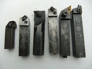 Lathe turning , cutting  Tools x 6