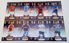 TOPPS PREMIER GOLD 2017-18 [2018] ☆☆☆ Terrace Hero ☆☆☆ Insert Cards #151 to #170