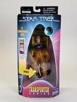 "1998 Playmates Star Trek Transporter Series Lt. Commander Data Action Figure 5"""