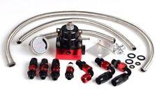 Billet Adjustable Fuel Pressure Regulator AN 6 AN6 6AN Fittings & Line Universal