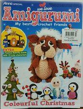Anna Special Amigurumi Issue 3 Best Crochet Friends Christmas FREE SHIPPING sb