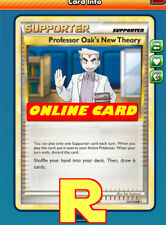 Professor Oak's New Theory - for the Pokemon TCG Online ( ptcgo in Game Card )