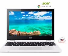 "Acer 2 In1 Chromebook R11 Convertible 11.6"" HD Touch Intel Celeron 4GB RAM 32SSD"