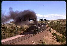 n325 Orig. Slide Union Pacific X3985 Steam Special In WY on 6-94