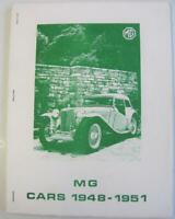 MG Cars 1948-1951 R M Clarke Compiler Car Book