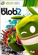 BRAND NEW Sealed De Blob 2 (Microsoft Xbox 360, 2011)