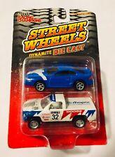 🏁 RACING CHAMPONS 2 Pack - Street Wheels Dynamite '93 Mustang & Dodge Pickup 🏁