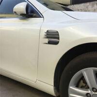 Novelty 2Pcs/Lot Auto Vent Air Flow Fender Decal Car Body Decorative Sticker~