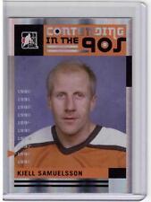 KJELL SAMUELSSON /12 ITG Broad Street Boys Base Card #63 Philadelphia Flyers SP