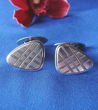 Alte Manschettenknöpfe 835 Silber Manschetten Knöpfe Cufflinks / Art. ff 294
