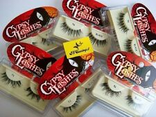 LOT ~ 5 PAIRS GYPSY False Eyelashes Fake Lashes Lash Black