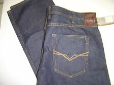 "NEW MENS GUESS ""VERMONT"" SLIM FIT DARK WASH BUTTON FLY JEANS SIZE 40 X 34 $108"