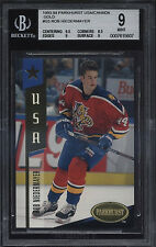 1993-94 Parkhurst USA/Canada Gold Rob Niedermayer Mint BGS 9 Florida Panthers