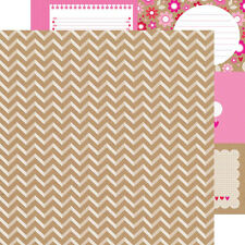 "Doodlebug Designs Sweetheart ""Twitterpated"" 12x12 paper 2pc"
