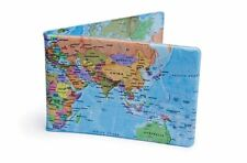 World Map Oyster Card Travel Wallet London Underground