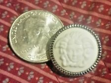 One (1) Uncirculated VERSACE Medusa Logo Head Button