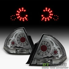 Smoke 2006-2013 Chevy Impala SS SMD LED Tail Lights Brake Lamps 06-13 Left+Right