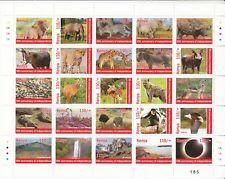 2013 Kenya  110/- 50th Anniversary of Independence sheet of 25 MNH