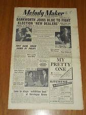 MELODY MAKER 1952 #1003 DEC 6 JAZZ SWING DANKWORTH GLENN MILLER EDDIE FISHER