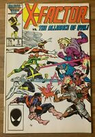 X-Factor #5 (Marvel 1986) 1st Cameo Appearance Apocalypse~Ron Frenz~X-Men~VF~Key
