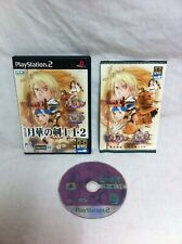 PS2 Japan SNK NeoGeo THE LAST BLADE 1 * 2 Complete Game NEO GEO Bakumatsu Roman
