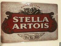 STELLA Tin Sign Bar Shed Garage Man Cave