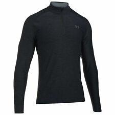 Under Armour Men's Playoff 1/4 Zip Golf Sweatshirt Black Large 1298951-001 NWT