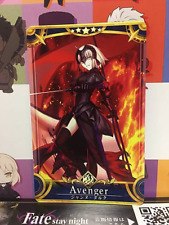 Jeanne d'Arc Alter Stage 2 Avenger Star 5 FGO Fate Grand Order Arcade Mint Card