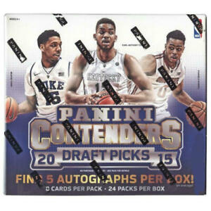2015/16 Panini Contenders Draft Picks NBA Basketball card Hobby Pack (Lot of 3)