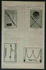 Torture Implements Society Prevention Cruelty Children NSPCC 1902 Photo Article