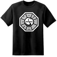 LOST DHARMA INITIATIVE HANSO FOUNDATION SWAN STATION T SHIRT Fringe X FILES