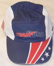 NWT - SWEATVAC 'TEAM USA' RACE CAP / HAT Red/White/Blue - One Size