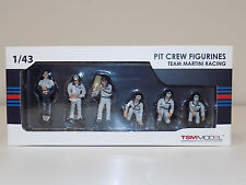 1/43 True Scale Models TSM Pit Crew Figurines Team Martini Racing TSM10AC06